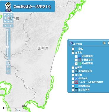 宮崎県の共同漁業権