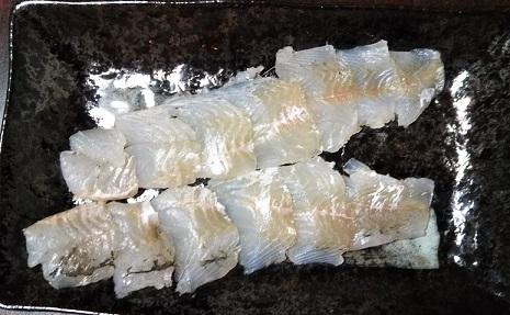 ヒラセイゴの刺身
